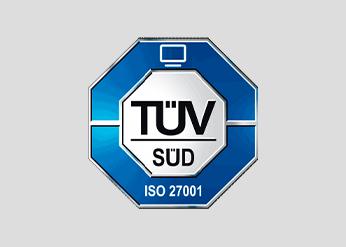 ISO/IEC 27001 zertifiziert