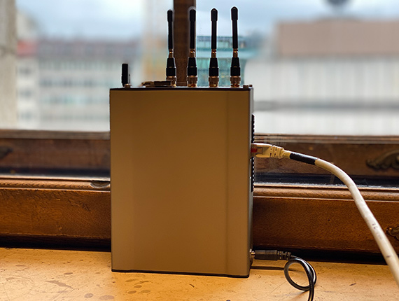 Bonding mehrerer LTE-Kanäle