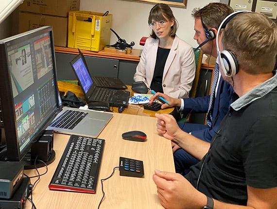 TV1 Bildregie und Redaktion