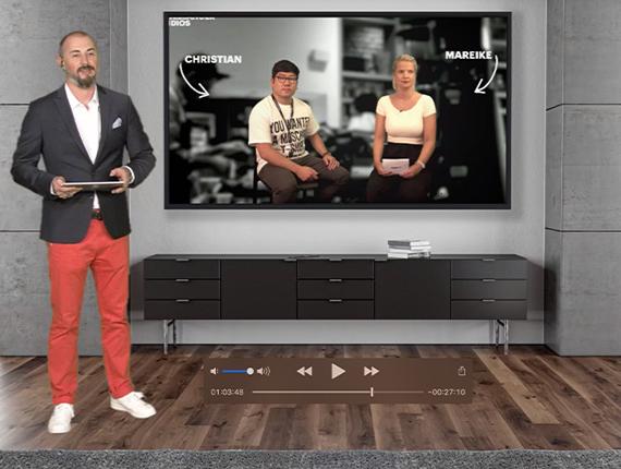 Live-Übertragung mit Qualität