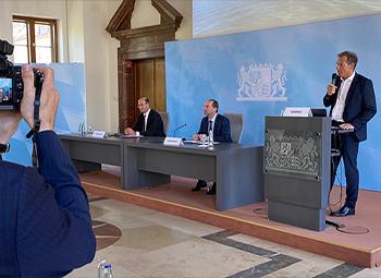 Pressekonferenz - Bayerisches Wirtschaftsministerium