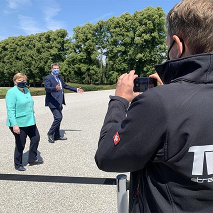 Angela Merkel und Markus Söder