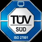 TÜV Süd - Zertifiziert nach ISO 27001
